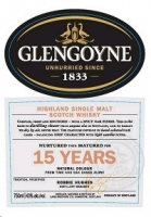 Glengoyne Scotch Single Malt 15 Year