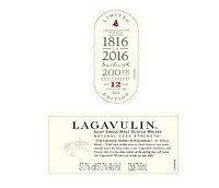 Lagavulin Scotch Single Malt 12 Year Cask Strength 750ml