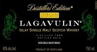 Lagavulin Scotch Single Malt Distillers Edition 750ml