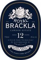 Royal Brackla Scotch Single Malt 12 Year 750ml
