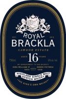 Royal Brackla Scotch Single Malt 16 Year