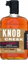 Knob Creek Bourbon Single Barrel Reserve 9 Year 750ml