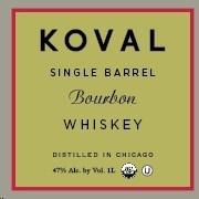 Koval Bourbon Single Barrel 750ml