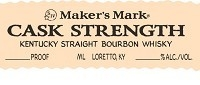 Maker's Mark Bourbon Cask Strength 750ml