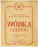 Wodka Vodka 750ml