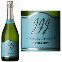 12 Bottle Case JFJ Extra Dry California Sparkling Champagne NV