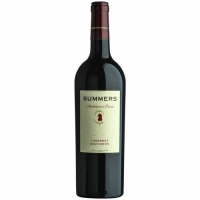 12 Bottle Case Summers Andriana's Cuvee Sonoma-Napa Cabernet 2015
