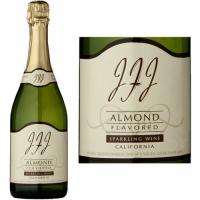12 Bottle Case JFJ Almond California Sparkling Wine NV
