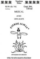 Pierde Almas Mezcal Tequilana Weber 750ml
