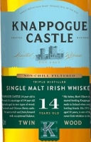 Knappogue Castle Irish Whiskey Single Malt 14 Year Twin Wood 750ml