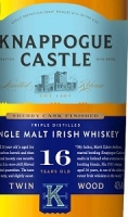 Knappogue Castle Irish Whiskey Single Malt 16 Year Twin Wood 750ml