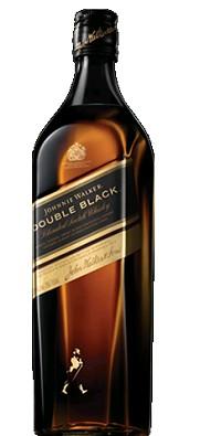 Johnnie Walker Scotch Whiskey Double Black 1L