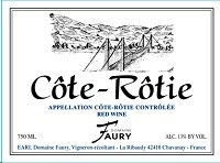 Domaine Faury Cote-rotie 750ml
