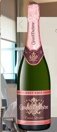 Canard-duchene Champagne Brut Rose Cuvee Leonie 750ml