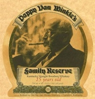 Pappy Van Winkle's Bourbon 15 Year Family Reserve