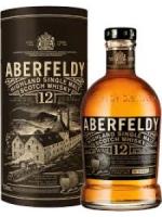 Aberfeldy 12 Year Old Highland Single Malt Scitch Whisky 7500ml