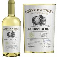 12 Bottle Case Cooper & Thief Tequila Barrel Aged Napa Sauvignon Blanc 2016