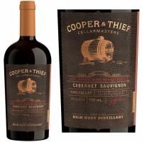 Cooper & Thief Rye Whiskey Barrel Aged Napa Cabernet 2015