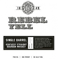 Rebel Yell Bourbon Single Barrel 10 Year 100@ 750ml
