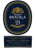 Royal Brackla Scotch Single Malt 21 Year 750ml