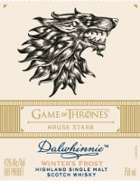 Dalwhinnie Scotch Single Malt Winter's Frost Game Of Thrones House Stark 750ml