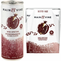 Beringer Main & Vine Pomegranate Wine Spritzer NV 4 Pack Cans 250ml
