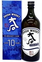 Ohishi - 10 Year Old Brandy Cask Whisky 750ml