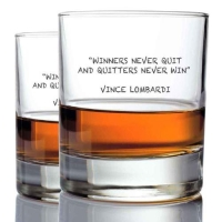 *Vince Lombardi Whisky Glasses (2)