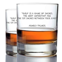 *Arnold Palmer Whisky Glasses (2)