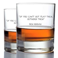 *Ben Hogan Whisky Glasses (2)