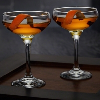 CASABLANCA COCKTAIL COUPE GLASSES, SET OF 2 00ml